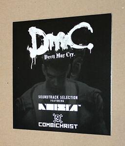Capcom Devil May Cry DMC promo Not for Sale Soundtrack very Rare  .