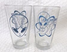 Las Vegas 51s Alien Logo Large Tumbler Glasses-Set of 2