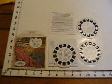 vintage view master: TULIP TIME IN HOLLAND 3 disks