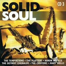 Solid Soul. The Temptations. The Platters. Aaron Neville. Mary Wells, etc. CD 3