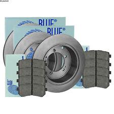 BLUE PRINT BREMSSCHEIBEN Ø232 mm BREMSBELÄGE SET HINTEN VW POLO 1.2 TSI TDI