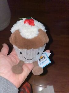 New Jellycat Holly Cutie Cupcake Plush