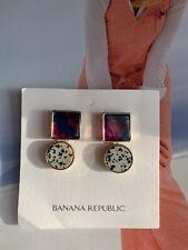 BN Banana Republic Fashion Statement Dangle  Earrings