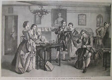 TUNING UP BY E K JOHNSON 1866 LONDON ILLUSTRATED NEWS