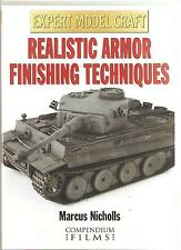 EXPERT MODEL CRAFT REALISTIC ARMOR FINISHING TECHNIQUES DVD - MARCUS NICHOLLS