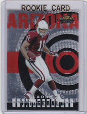 Larry Fitzgerald 2004 Topps Finest RC Arizona Cardinals ROOKIE CARD