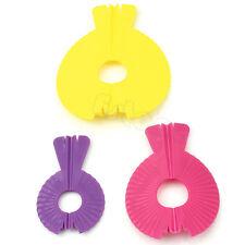 3Pcs Style Shape Pompom Maker Fluff Ball Weaver Needles Craft Loom Tool Knitting