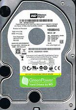 Western Digital AV-GP 500 GB Hard Drive (WD5000AVVS-63H0B1) DCM: EHRNHTJMH #170