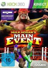 Microsoft XBOX 360 Spiel ***** Kinect Hulk Hogans Main Event ************NEU*NEW