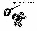 Phoenix CJ750 gearbox output shaft oil seal