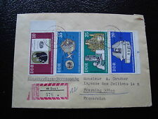 ALLEMAGNE RDA lettre 3/9/75 - timbre stamp germany (cy1)