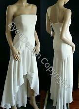 Rare Wedding White Party Evangelina BCBG MaxAzria Dress XS Small 0 2 4 $398