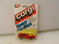 1984 CORGI WHIZZWHEELS J8 SIMON SNORKEL FIRE ENGINE TRUCK NEW ON CARD