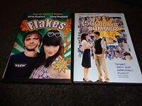 FLAKES & 500 DAYS OF SUMMER-2 dvds-ZOOEY DESCHANEL, JOSEPH GORDON-LEVITT-Comedy