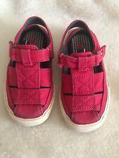 Tommy Hilfiger Toddler Shoes Sandals size 6 1/2 Red Color