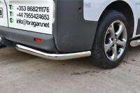 To Fit 2004 - 2015 VW Transporter T5 Caravelle Stainless Steel Rear Corner Bars