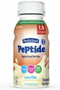 PediaSure Peptide Vanilla Shake, 8oz - 24 Count
