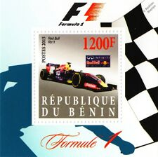 2015 RED BULL RB11 Formula 1 F1 Grand Prix Racing Car Stamp