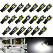 T10 501 W5W CAR SIDE LIGHT BULBS ERROR FREE CANBUS 6 & 10SMD LED XENON HID WHITE