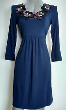 BODEN jersey dress size 8 knee length 3/4 sleeves --BRAND NEW--
