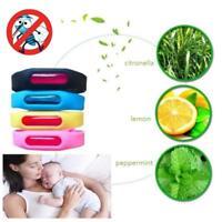 Bracelet Anti Mosquito Insect Pest Bugs Capsule Control Repellent Repeller 1set