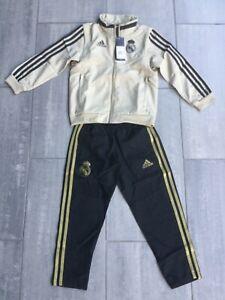 Adidas Trainingsanzug Real Madrid Gr116,neu mit Etikett