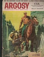 Argosy Magazine August 1957 Billy Graham Abbe Lane Hunting