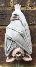 Bat Wall Hanging - Hand Cast Stone Garden Ornament