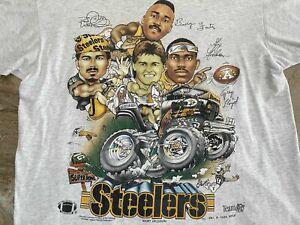 Pittsburgh Steelers Vintage 90s NFL Football Shirt Funny Vintage Gift For Men