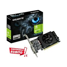 SCHEDA GRAFICA NVIDIA GEFORCE GT 710 2GB GDDR5 SCHEDA VIDEO LP LOW PROFILE-