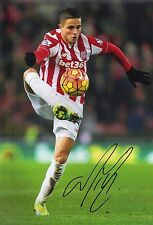 Ibrahim Afellay Signed 12X8 Photo Stoke City Genuine Autograph AFTAL COA (1924)