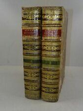 Grand Dictionnaire Francais Italien - Alberti Villeneuve - 2 Bde Wörterbuch 1826