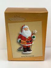 Hallmark 2005 Club Exclusive Santa Nutcracker Ornament  Not Sold in Stores