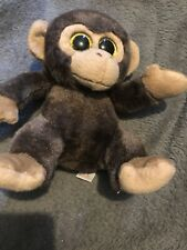 "Small Ty Monkey Brown Approx 6"" Plush Toy"