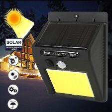 48LED Solar PIR Motion Sensor Security Wall Lights Outdoor Garden Lamp Lighting