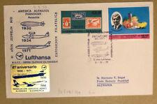 Paraguay 1971, Lufthansa, dekorativer Sonderumschlag Sonderstempel