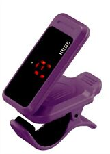 Tuner KORG PC-1 Pitchclip Low-Profile Clip-on Guitar Chromatic Instrument Purple
