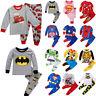 Kid Boy Girl Superhero Buzz Lightyear Sleepwear Nightwear Pjs Pyjamas Outfit Set