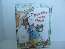 Bunnies in My Head by Tricia Tusa (1998, Hardcover), Art by Children of M.D. And
