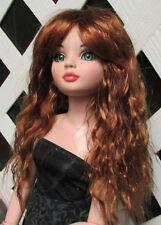 "Doll Wig, Monique Gold ""Snow"" Size 6/7 in Golden Auburn"