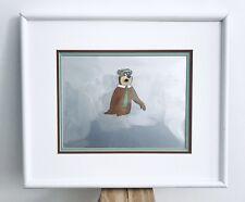Framed Yogi Bear 3 Piece Animation Cell