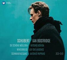Ian Bostridge - Schubert: Die Schöne Müllerin, Winterreise, Sch (NEW CD+DVD SET)