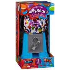 Blue Jelly Beans Dispenser Gumball Machine With 8 Flavours Beans Xmas Gift