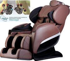 Brand New Massage Chair 830 Zero-G intelligent roll Heating Foot Roller Brown