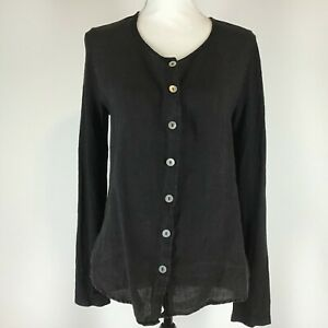 Cut Loose  Blouse Shirt Size S Small -Black