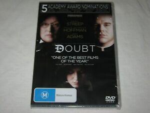 Doubt - Meryl Streep - Brand New & Sealed - Region 4 - DVD - Rare