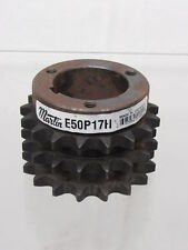 """Martin Roller Chain Sprocket, 50 Chain Size, 0.625"""" Pitch, 17 Teeth"""