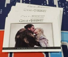 Game of Thrones Season 8 Complete 18 Card Relationships Insert Set