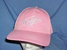 #2971N -LADIES PINK OKLAHOMA CITY DODGERS MINOR LEAGUE BASEBALL CAP, HAT