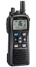 New ICOM M73 IPX-8 Submersible 6 Watt Handheld VHF Marine Radio IC-M73 01